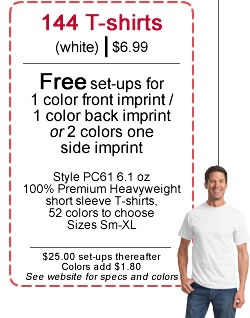 T-shirt Screen Printing Coupon